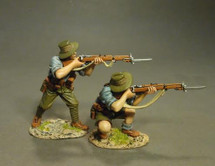 ANZAC's Firing, THE GALLIPOLI CAMPAIGN 1915, (2pcs)