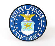 USAF Wall Plaque Display