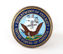 US Navy Wall Plaque Display