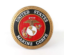 USMC Wall Plaque Display