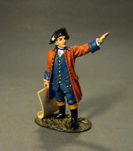 Engineer Ken Dunne, The Raid On St. Francis 1759 - single figure