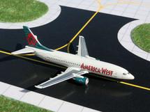 America West Airlines (USA) B737-300 Gemini Diecast Display Model