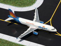 Allegiant A320-200, N217NV Gemini Diecast Display Model