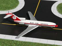 Dan Air (Uk) B727-100 Gemini Diecast Display Model