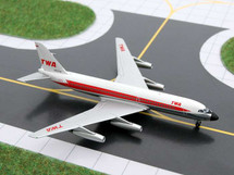 TWA Transworld Airlines (USA) CV-880 Gemini Diecast Display Model