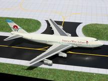 America West Airlines 747-200, N532AW Gemini Diecast Display Model