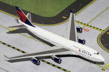 Delta Air Lines (USA) B747-400 Gemini Diecast Display Model