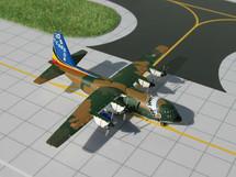C-130 Belgian Air Force Hercules Gemini Diecast Display Model