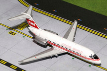 TWA Transworld Airlines (USA) DC-9 Gemini Diecast Display Model