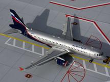 Aeroflot (Russian Federation) A320-200 Gemini Diecast Display Model