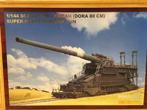 Dora 80cm WWII German Super Heavy Railway Gun (Model Kit)