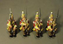 Four Grenadiers, 15th Regiment of Foot, Quebec Landing Barge