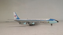 VC-137 USAF Air Force One 26000 with Black Stand Polished