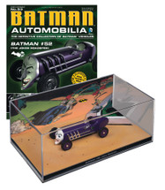 Batmobile Die Cast Model Batman #52 Joker Roadster