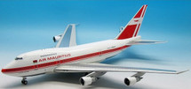Air Mauritius Boeing 747SP 3B-NAQ Polished with stand