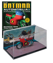 Batmobile Die Cast Model Batman #244 Robin Bike