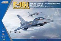 F-16A/B ROCAF Block 20 - 70th Anniversary Flying TigeråäÌÝå»s (Model Kit)