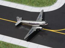Delta Air Lines DC-3, N18142 Gemini Diecast Display Model