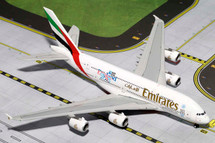 Emirates Airlines A380-800 Gemini Diecast Display Model