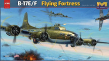 B-17E/F Flying Fortress Display Model (Model Kit)