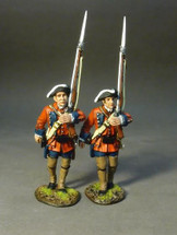 Two Line Infantry Marching Set #3, 60th (Royal American), Regiment of Foot