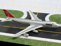 Northwest Airlines 747-200, N624US Gemini Diecast Display Model