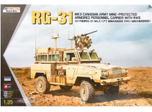 RG-31 MK3 Canadian Army with RWS (Kit)