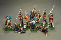 10th Anniversary Special Booster Set #2, Jacobites & British Infantry - 10 figures