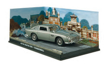 Aston Martin DB5 Thunderball - James Bond Eaglemoss Collections