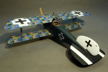 Albatros DIII, Jasta 49, 1918, Ltn. Franz Ray, Knights of the Skies