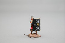 Bull's-Eye! (30th Legion) Black Shield Figurine