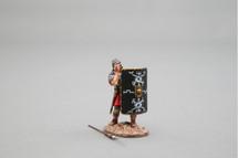 Bull's-Eye! (30th Legion) Black Shield Figurine