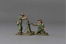 Mortar with Crew (8cm) Combat Set