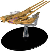 Xindi Reptilian Warship, w/Collector Magazine