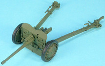APX 47mm SA 37 Anti-Tank Gun (Firing Configuration) French Army, World War II