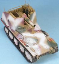"""Sd.Kfz.138/1 15cm Schweres InfanteriegeschåÙtz 33/1 auf Selbstfahrlafette 38(t) (Sf) Ausf. M """"Grille"""" 1st-SS Panzer Division """"Leibstandarte SS Adolf Hitler,"""" Ardennes, 1944-45"""