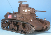 "M3 Stuart ""Chief,"" 1st Armored Division, U.S. Army, Tunisia, 1942"