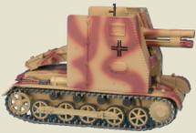 Sturmpanzer I Bison Company 704, 5th Panzer Division, German Army, Russia, 1943