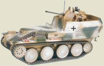 """Sd.Kfz.140 Flakpanzer 38(t) auf Selbstfahrlafette 38(t) Ausf.M 12th SS-Panzer Division """"HitlerjåÙgend,"""" Ardennes, 1944"""