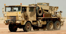 Renault TRM 10000 Heavy Cargo Truck French Army, Desert Camouflage