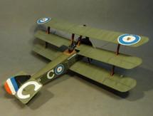 "Sopwith Triplane N533 ""C"" ""Black Maria"", 10 Naval Squad., Droglandt, France, June 1917"