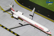 TWA MD-80 (Red Stripe Livery) N903TW Gemini Diecast Display Model