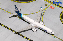Alaska B737-900ER(S) (New Livery, Scimitars) N247AK Gemini Diecast Display Model