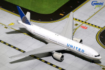 United B777-200ER N796UA Gemini Diecast Display Model