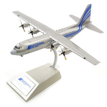 National Airlines Lockheed L-100-30 Hercules S9-BAT w/ stand