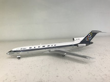 Olympic Boeing 727-200 SX-CBB Polished With Stand