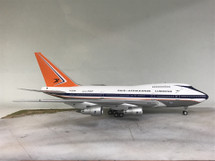 South African Airways Boeing 747SP ZS-SPE Polished w/ Stand