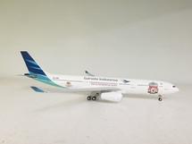 Garuda Indonesia A330-341 LCF Tour PK-GPA w/ Stand