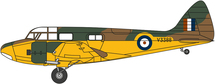 AS.10 Oxford Mk.I V3388/G-AHTW, Imperial War Museum, Duxford, UK