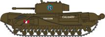 Churchill Mk.III Tank – 1st Canadian Tank Brigade, Dieppe, 1942